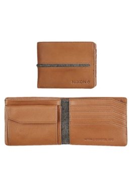 Nixon Cartera Coastal Bi-Fold Saddle asturias