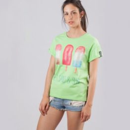 ENZOCOUTURE CAMISETA LEMON GREEN ICE CREAM ASTURIAS