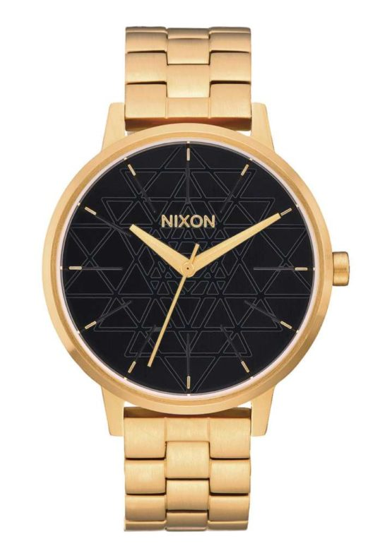 Nixon Reloj Kensington Gold-Black-Stamped Asturias