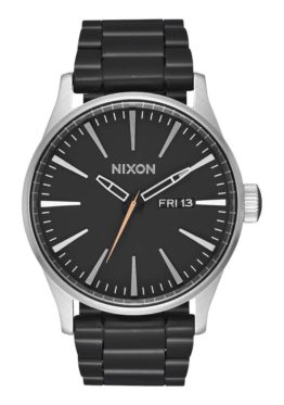 Nixon Reloj Sentry SS Black Steel Asturias