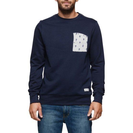 Element Coleson Crew Sweater Navy Asturias