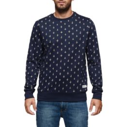 Element Grayson Crew Sweater Navy Asturias