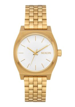Nixon Medium Time Teller All Gold White Asturias