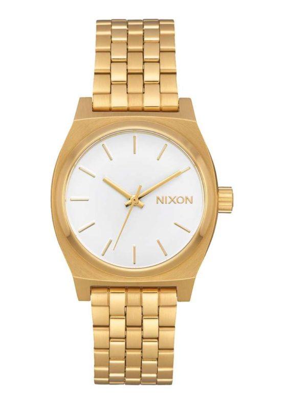 Nixon Medium Time Teller All Gold White Asturias
