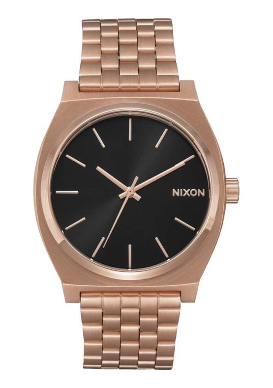 Nixon Time Teller All Rose Gold Black Sunray Asturias