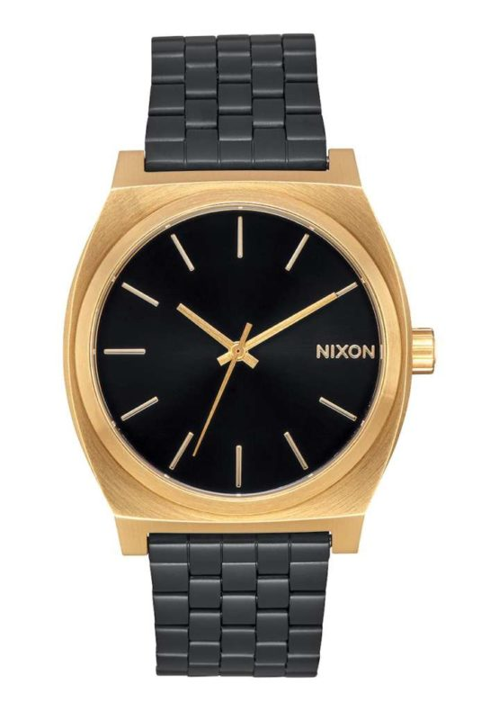 Nixon Time Teller Gold Black Sunray Asturias