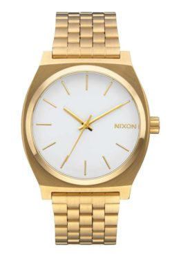 Nixon Time Teller Gold White Asturias
