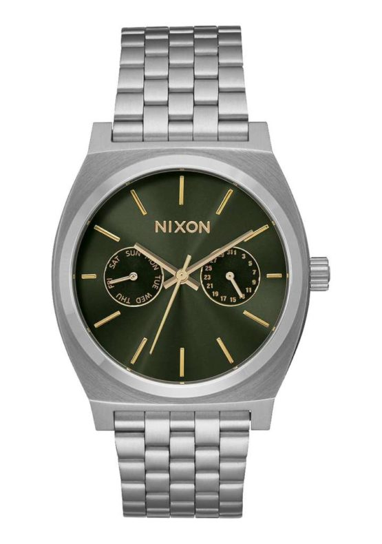 Nixon Time Teller Deluxe Olive Sunray Asturias