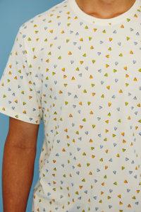 Tiwel Camiseta Peaks White Asturias