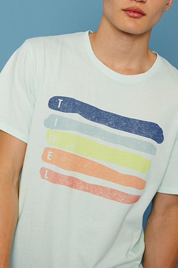 Tiwel Camiseta Rainbow Off White Asturias