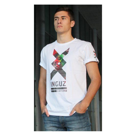 Inguz Camiseta Bob Marley Blanco Asturias