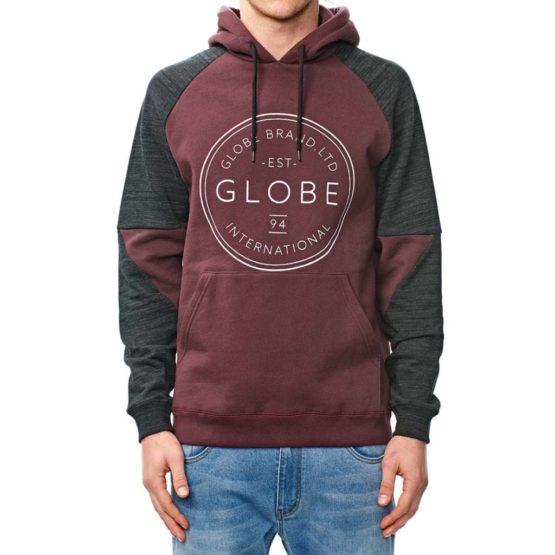 hottershop Globe Winson Hoodie Wine