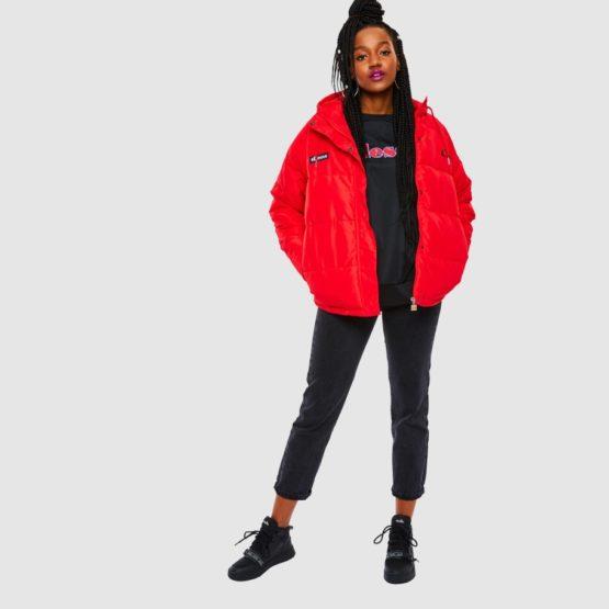 hottershop Ellesse Pejo jacket red