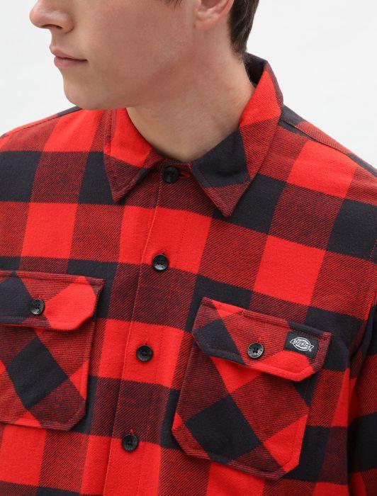 hottershop Dickies Camisa Sacramento Red