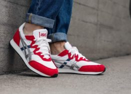 hottershop Asics Tarther OG White Classic Red