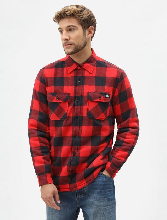 hottershop Dickies Lansdale Shirt Red