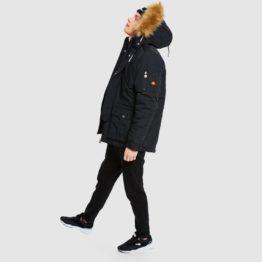 hottershop Ellesse Blizzard parka jacket black