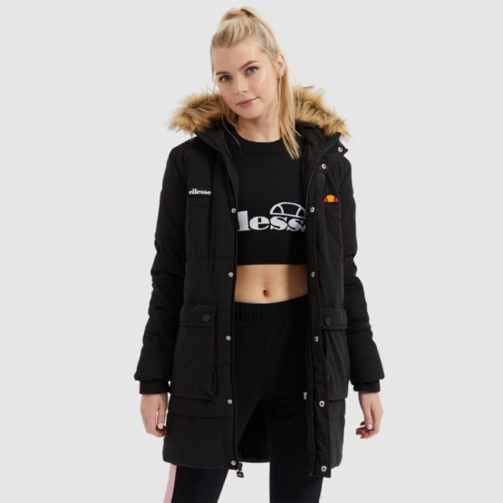 hottershop Ellesse Liberta parka jacket black