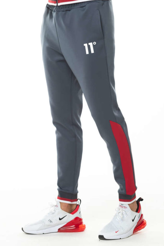 hottershop 11 Degrees RIBBED POLY TRACK PANTS asturias