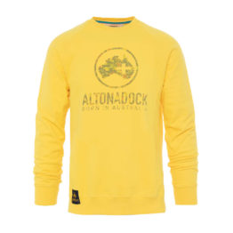 Altonadock Sudadera Amarillo Logo asturias