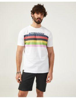hottershop Altonadock Camiseta Blanca Multicolor asturias