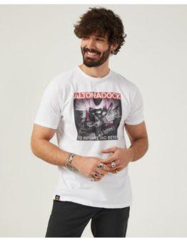 hottershop Altonadock Camiseta Blanca Tatoo asturias