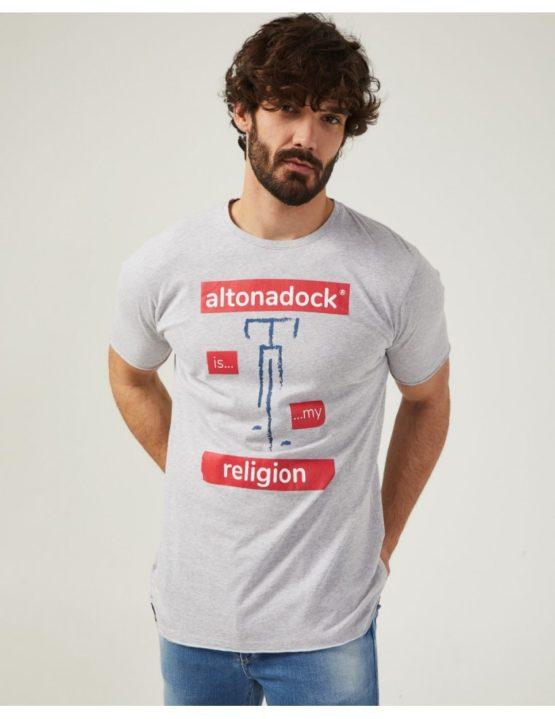 hottershop Altonadock Camiseta Gris Bici asturias