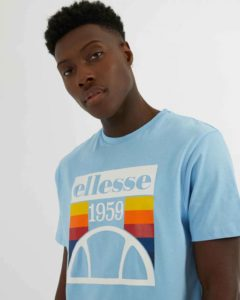 hottershop Ellesse Camiseta Pirozzi Light Blue asturias