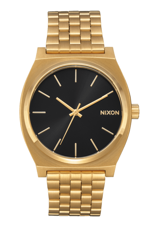 hottershop Nixon Time Teller All Gold Black Sunray
