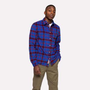 hottershop Regular Shirt 3771Blue