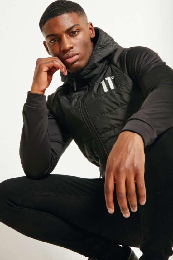 hottershop 11 Degrees NEOPRENE HYBRID JACKET BLACK