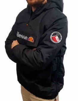 hottershop Ellesse Canguro Monterini negro con forro polar