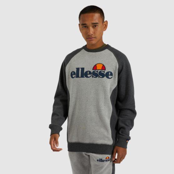 hottershop Ellesse Tyson sweatshirt grey marl
