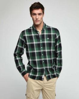 hottershop Altonadock Camisa slim de cuadros