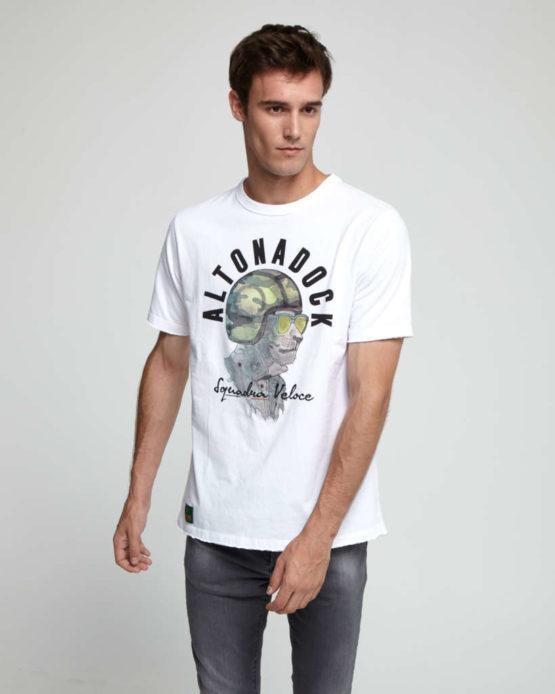 hottershop Altonadock Camiseta blanca de tacto muy suave