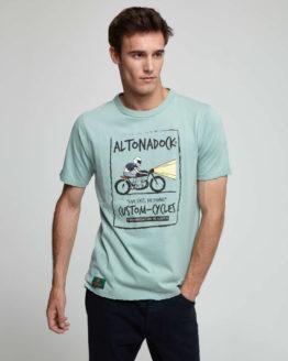 hottershop Altonadock Camiseta con dibujo frontal