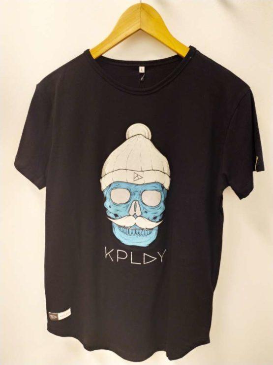 hottershop Kplay Camiseta con estampado fosforescente Negro