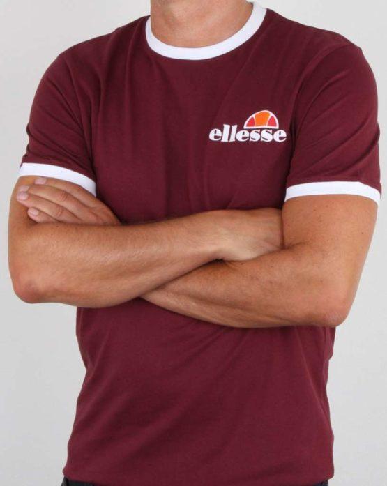 hottershop Ellesse Camiseta Menduno Burgundy