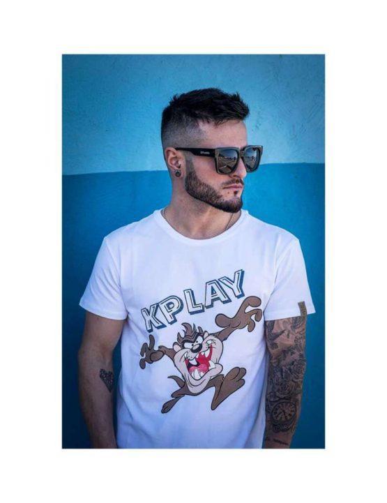 hottershop Kplay Camiseta de hombre estampado Taz