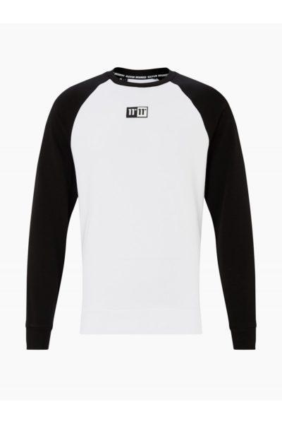 HOTTERSHOP 11 DEGREES Onyx Sweatshirt White Black