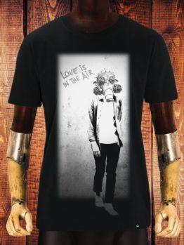 hottershop CAMISETA NUM WEAR LOVE COLOR BLACK