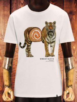 hottershop CAMISETA NUM WEAR SSWEET KITTY COLOR OFF WHITE