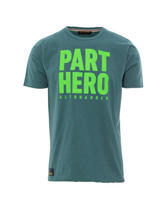HOTTERSHOP ALTONADOCK Camiseta verde azulado Part Hero