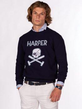 HOTTERSHOP HARPER&NEYER SUDADERA SKULL
